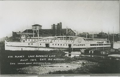 PLANET (1855, Steamer)