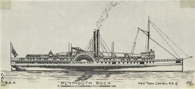 PLYMOUTH ROCK (1854, Steamer)