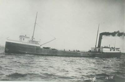 BLACK ROCK (1897, Steambarge)