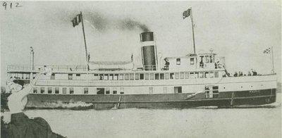 WAUBIC (1909, Passenger Steamer)