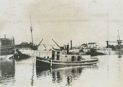 FRENCH, MAY (1883, Tug (Towboat))