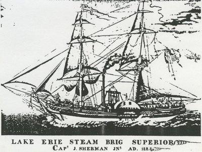 SUPERIOR (1822, Steamer)