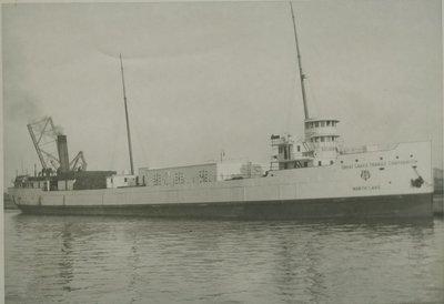 NORTH LAKE (1909, Bulk Freighter)