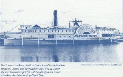 SMITH, FRANCES (1867, Steamer)