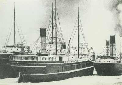 WOLVIN, A.B. (1900, Package Freighter)