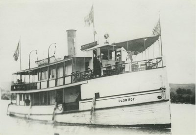 PLOW BOY (1887, Excursion Vessel)