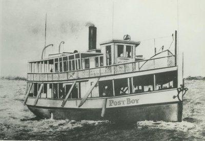 POST BOY (1888, Excursion Vessel)
