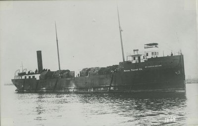 RHODES, WILLIAM CASTLE (1900, Package Freighter)