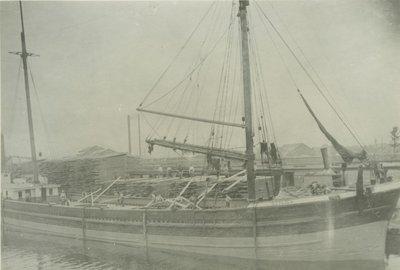 TILDEN, S.J. (1869, Schooner)