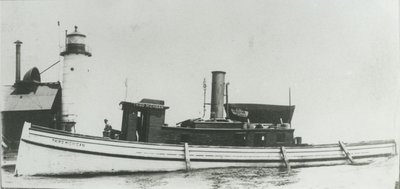 THIRD MICHIGAN (1868-69, Tug (Towboat))