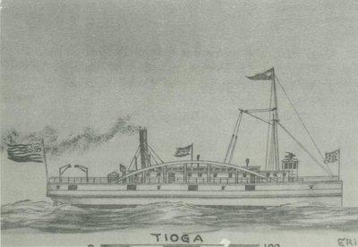 TIOGA (1862, Steamer)