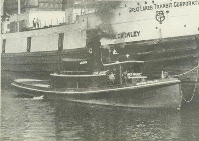 TRUBY, JOHN M. (1910, Tug (Towboat))