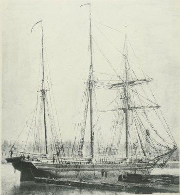 TWO FANNIES (1862, Barkentine)