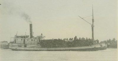 BESSIE (1880, Steambarge)
