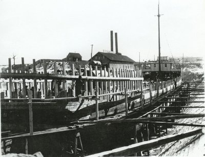 PRESTON (1891, Steambarge)