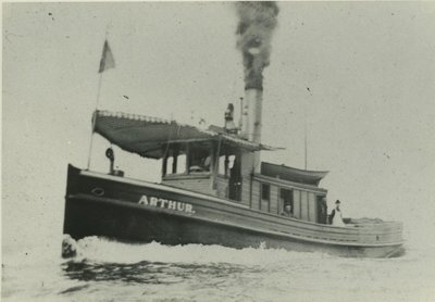 ARTHUR (1889, Fish Tug)