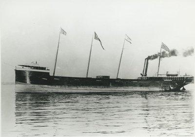 FRONTENAC (1889, Bulk Freighter)