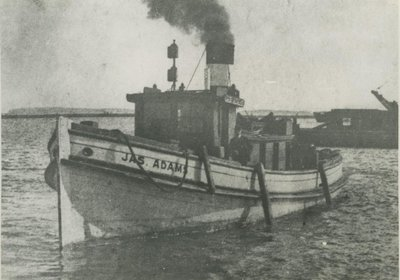 ADAMS, JAMES (1882, Tug (Towboat))