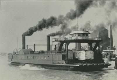 TRANSPORT (1880, Car Ferry (Rail Ferry))