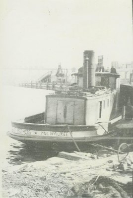 TWO BROTHERS (1891, Fish Tug)