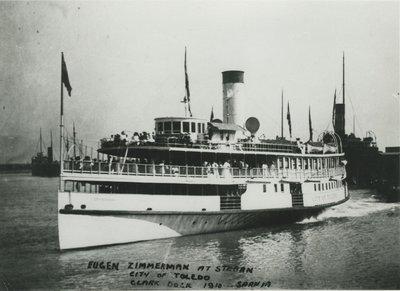 CITY OF TOLEDO (1891, Excursion Vessel)