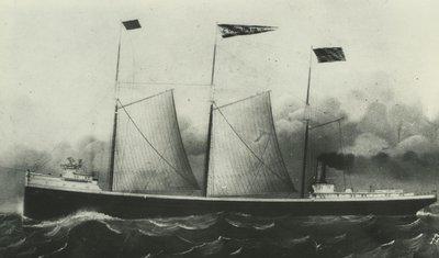 COLUMBIA (1881, Bulk Freighter)