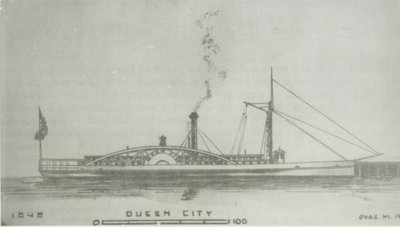 QUEEN CITY (1848, Steamer)
