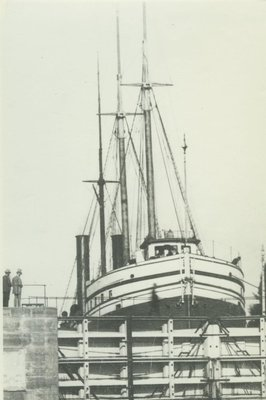 TOWER, CHARLEMAGNE, JR. (1886, Bulk Freighter)