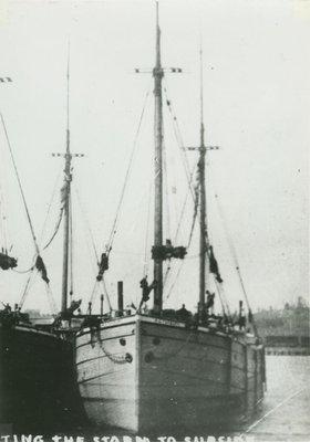 TUXBURY, A.C. (1890, Schooner-barge)