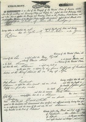 MARY ELIZABETH (1836, Schooner)