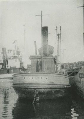 EL CIELO (1919, Tug (Towboat))
