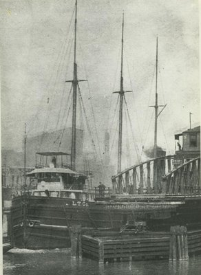 FLORIDA (1889, Package Freighter)