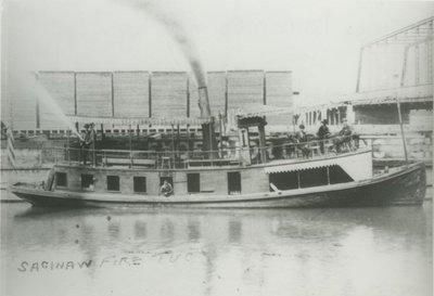 SHAW TRANSIT COMPANY FIRE TUG ( Tug (Towboat))