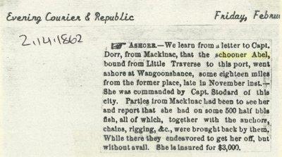 ABEL, C.L. (1855, Schooner)