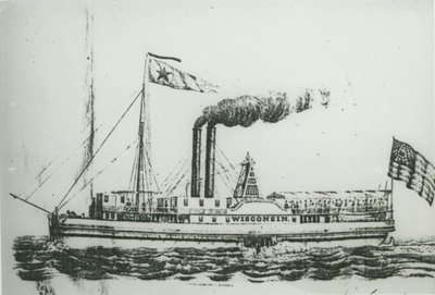 WISCONSIN (1838, Steamer)