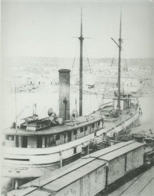 WORTHINGTON, H. LUELLA (1880, Steambarge)