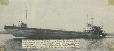 HOYT, COLGATE (1890, Bulk Freighter)