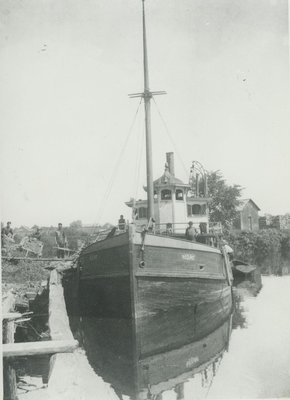 IDA (1872, Steambarge)