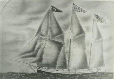 BARNES, BERTHA (1872, Schooner)