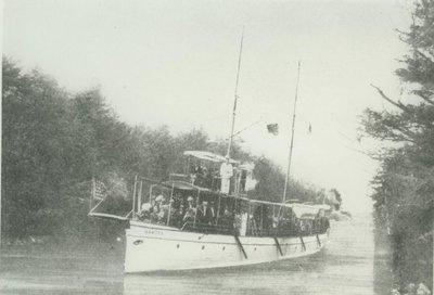 RAMONA (1886, Yacht)