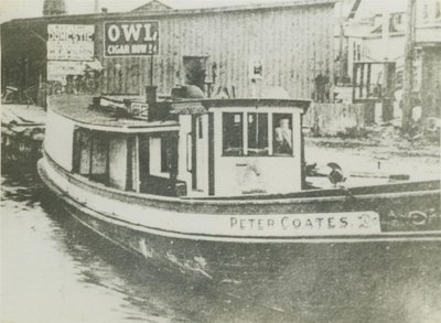 COATES, PETER (1886, Fish Tug)