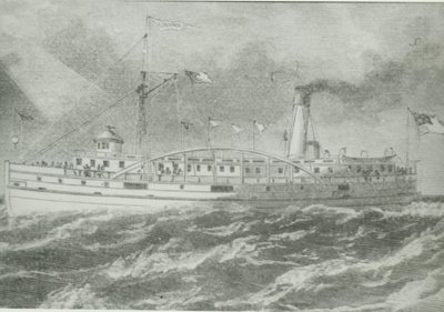COLUMBIA (1873, Propeller)