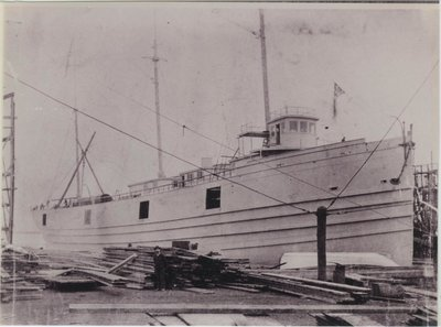 HUDSON (1888, Package Freighter)
