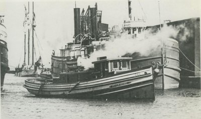 REISS, PETER (1906, Tug (Towboat))
