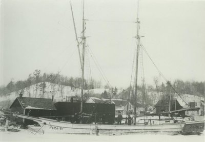 RANSOM, HARVEY (1887, Schooner)