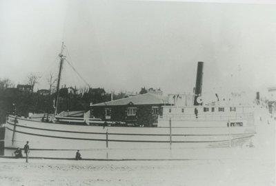 CLINTON (1874, Schooner-barge)