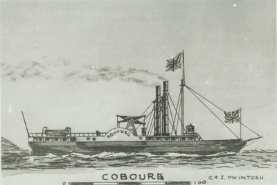 COBOURG (1833, Steamer)