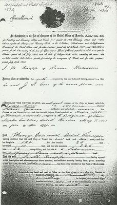 CASE, LYDIA (1862, Schooner)