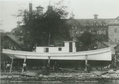 HAYES, JENNIE (1889, Tug (Towboat))