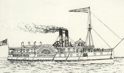 CORINTHIAN (1864, Steamer)